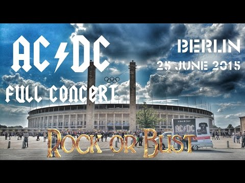 AC/DC - FULL CONCERT (Multicam-Mix) - Berlin 2015 (