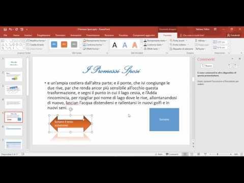 PowerPoint 16 -  Inserire e formattare caselle di testo