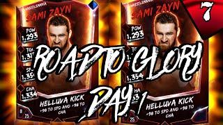 WRESTLEMANIA SAMI ZAYN RTG - #WWESUPERCARD #7