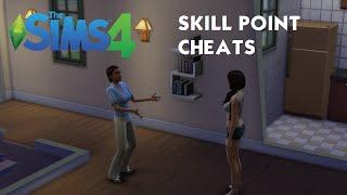 The Sims 4 Tutorial: Skill Point Cheats