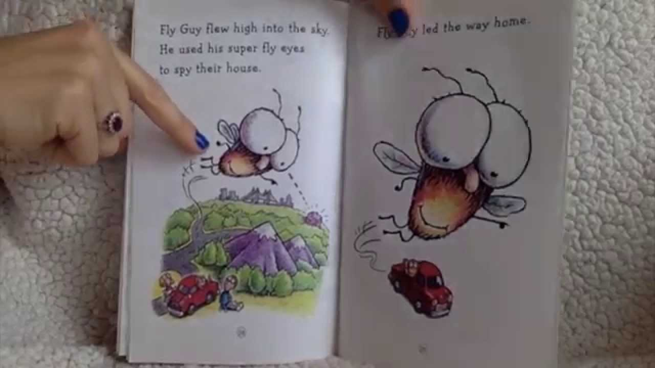Fly High, Fly Guy! By: Tedd Arnold, Read By: Angelina Jean