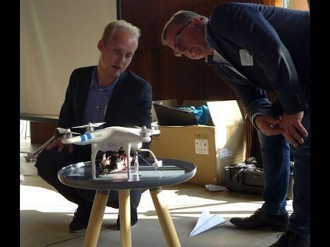 Drones at Danish Design Centre