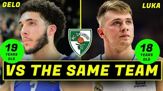 LIANGELO & LUKA (AS TEENS) PLAYING THE SAME TEAM (HOW DID THEY COMPARE?) IT MIGHT SHOCK YOU