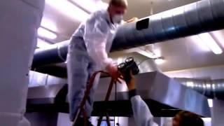 видео Промышленная система вентиляции зданий и вытяжных установок