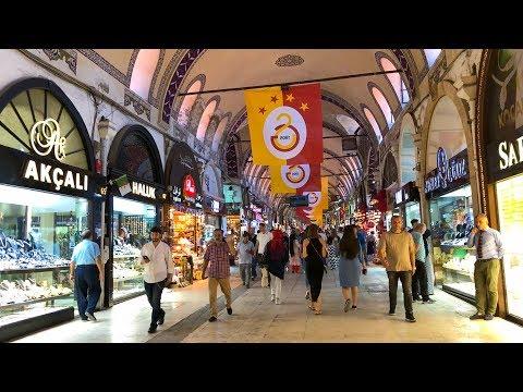 Grand Bazaar, İstanbul Walking Tour 2018 ᴴᴰ