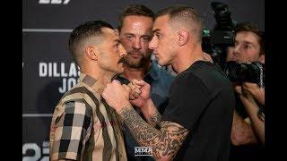 UFC 227 Media Day Staredowns - MMA Fighting