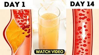 Only a Glass of this Magical Drink Unclog Blocked Arteries, Cure Heart Problems