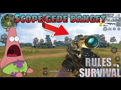 SOLO!  Mr. Cupu Savage!  MODE FPS Guys' Rules of Survival