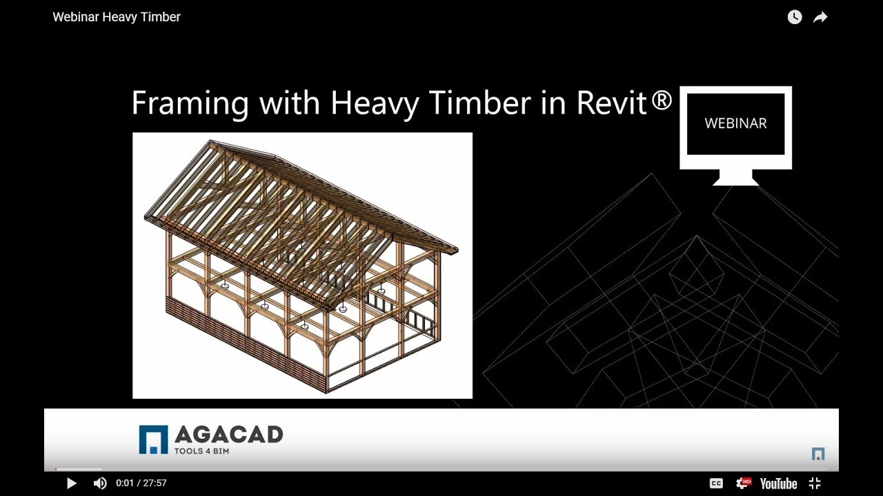 Framing Heavy Timber Structures in Revit® Better and Faster