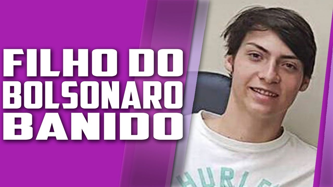 Filho de BOLSONARO BANIDO da Twitch