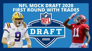 2020 NFL Mock Draft With Trades: First Round Mock Draft Predictions