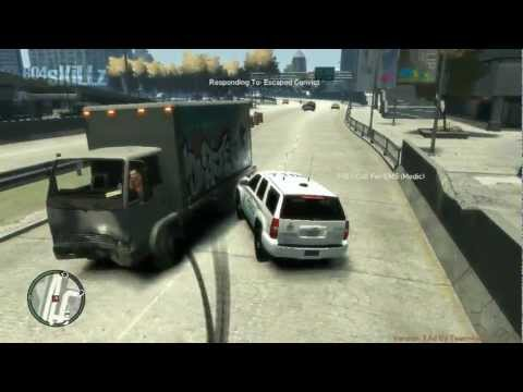 Transit Police at Work (GTA IV)