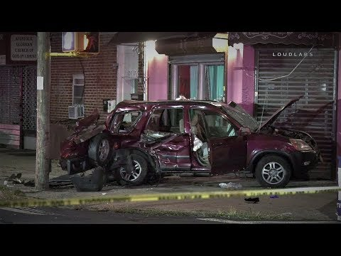 QUEENS: Car Crashes Store, Woman Ejected from Vehicle   Loudlabs