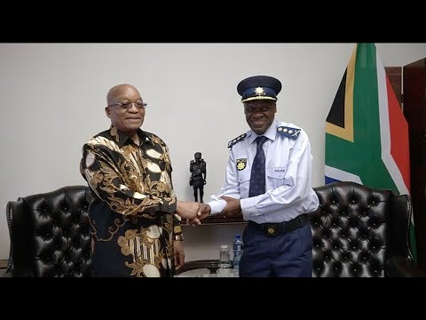 President Jacob Zuma appoints General Khehla John Sitole as National Police Commissioner