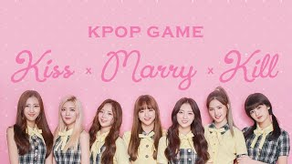 Kpop Game: Kiss, Marry and Kill (Boys & Girls) 💖