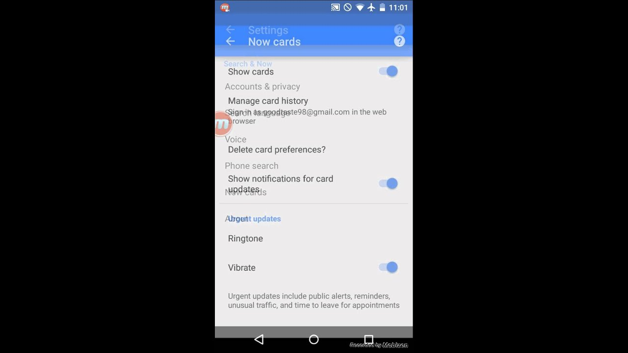 How to turn off google now on android 5 0 lollipop