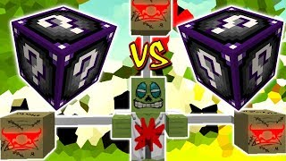 DR. ZUMBI MALUCO VS. LUCKY BLOCK DRAGON (MINECRAFT LUCKY BLOCK CHALLENGE)