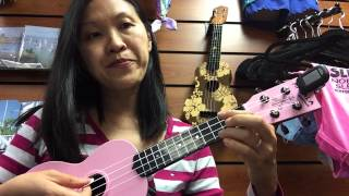 Beginner Ukulele Tutorial - Rasa Sayang (Malaysian Song)