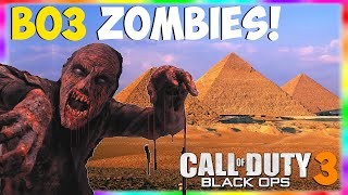 "Black Ops 3 Zombies: Leaked ""EGYPT NEXT ZOMBIES MAP"" Mummy Zombies?! ""Black Ops 3 Zombies"""