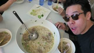 giant bowl of pho