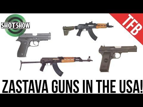 [SHOT Show 2019] Zastava AKs and Pistols Direct to the USA!