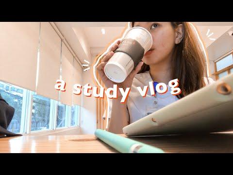 🍵getting My Life Together + A Study Vlog (med Vlog #7)