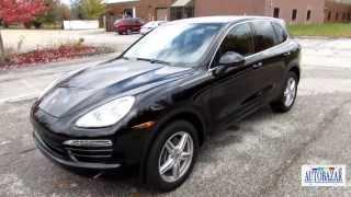 2014 Porsche Cayenne видео обзор.  Тест драйв 2014 Порш Каен.  Авто из США