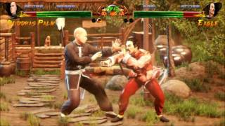 Steamにて発売されている対戦格闘アクション『Shaolin vs Wutang』(開...