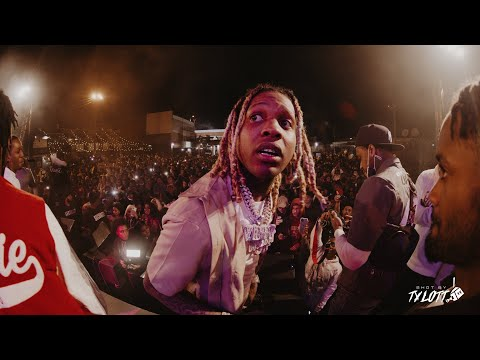LIL DURK AND WHOLE OTF GANG PERFORMS LIVE IN TALLAHASSEE, FL