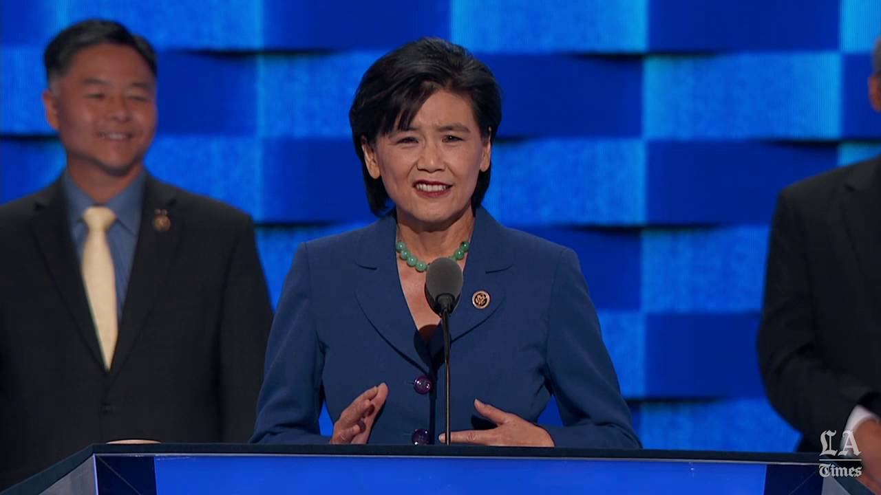Rep. Judy Chu of California speaks at the Democratic National ...