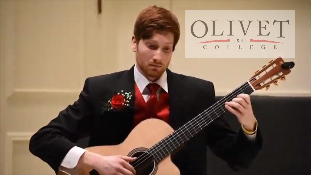 Justin Hatt Senior Guitar Recital | Olivet College, Olivet MI
