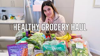 EVERYTHING YOU NEED FROM WHOLE FOODS AND TRADER JOES | Healthy Grocery Haul