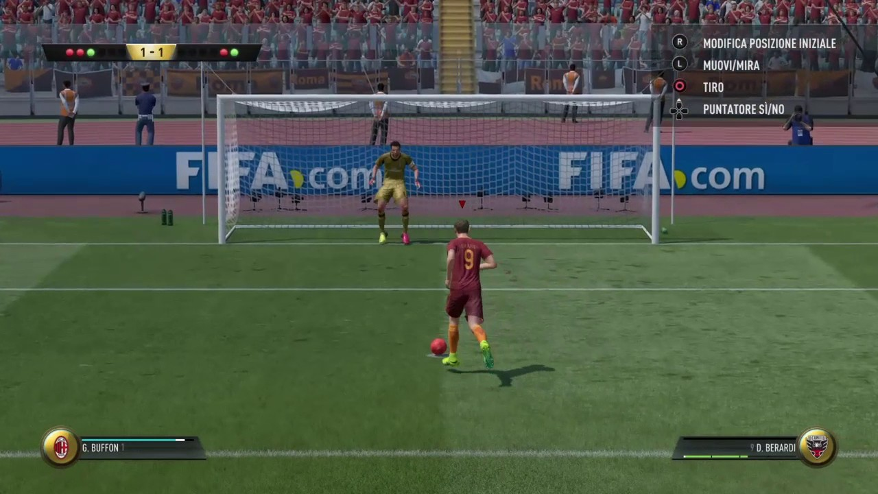 how to keep penalties in fifa 17
