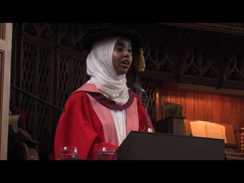Fahma Mohamed awarded honorary degree