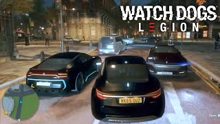 Watch Dogs Legion Gameplay - Free Roam, Missions, Customization, Shops, Driving and More!