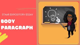 Expository essay: body paragraphs