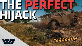 THE PERFECT HIJACK - Talking with the guy I stole the BRDM from - PUBG