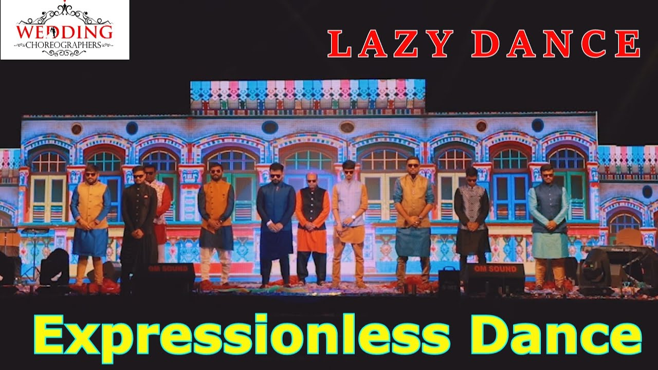 EXPRESSIONLESS DANCE | LAZY DANCE | MONO ACT | FUNNY DANCE | TEAM WC
