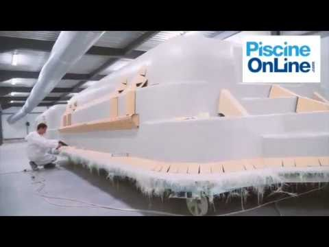 Piscine coque polyester Mancora