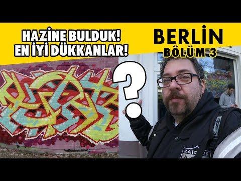 Turbo Vlog #19 - Berlin'de hazine bulduk! Graffitibox shop, sokaklar ve Graffiti (3.Bölüm)