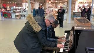 17th Century Music Gets Funked Up At A Public Piano