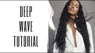 Deep Wave Hair Tutorial with Glen Coco