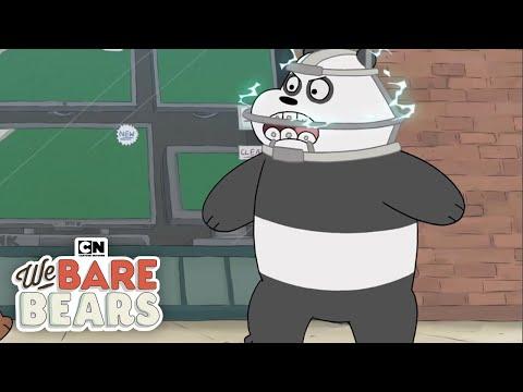 We Bare Bears   Panda's Super Braces   Cartoon Network - YouTube