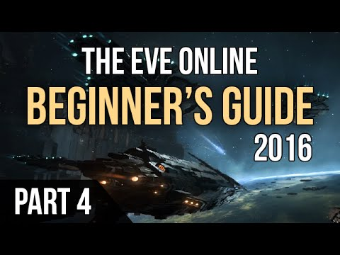 EVE ONLINE►Beginner's Guide 2016 - Part 4 (Inventory & Fitting)