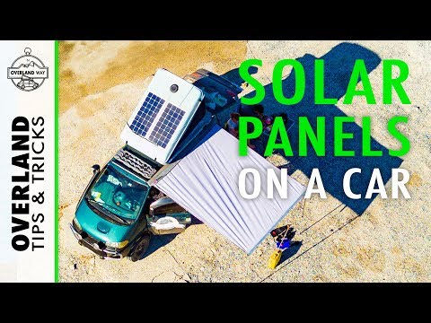 Solar Panel Upgrade to our James Baroud Space | OVERLAND TIPS & TRICKS