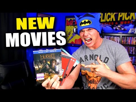New BLU-RAY Movies!