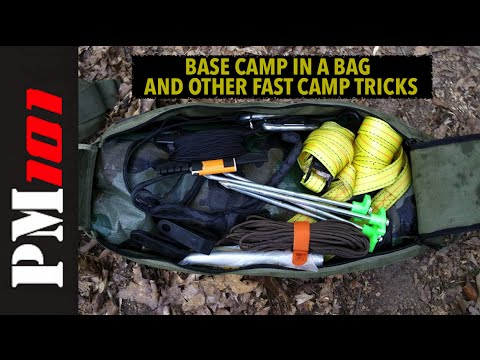 Base Camp In A Bag And Other Fast Camp Tricks  - P