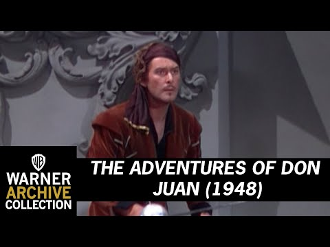 The Adventures of Don Juan (1948) – Freeing Her Majesty