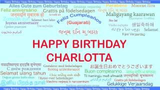 Charlotta   Languages Idiomas - Happy Birthday