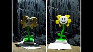 Undertale Flowey 1 hour speed build.